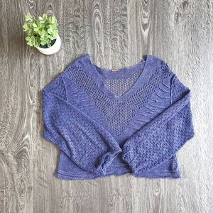 {Free People} Knitted Sweater